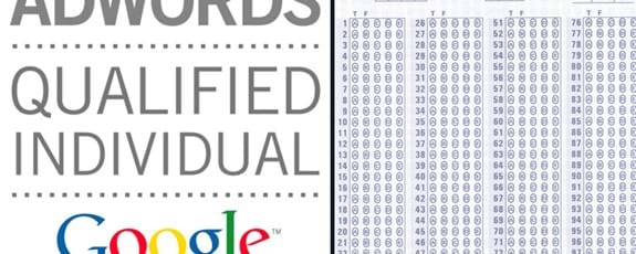 Adwords Certification Test