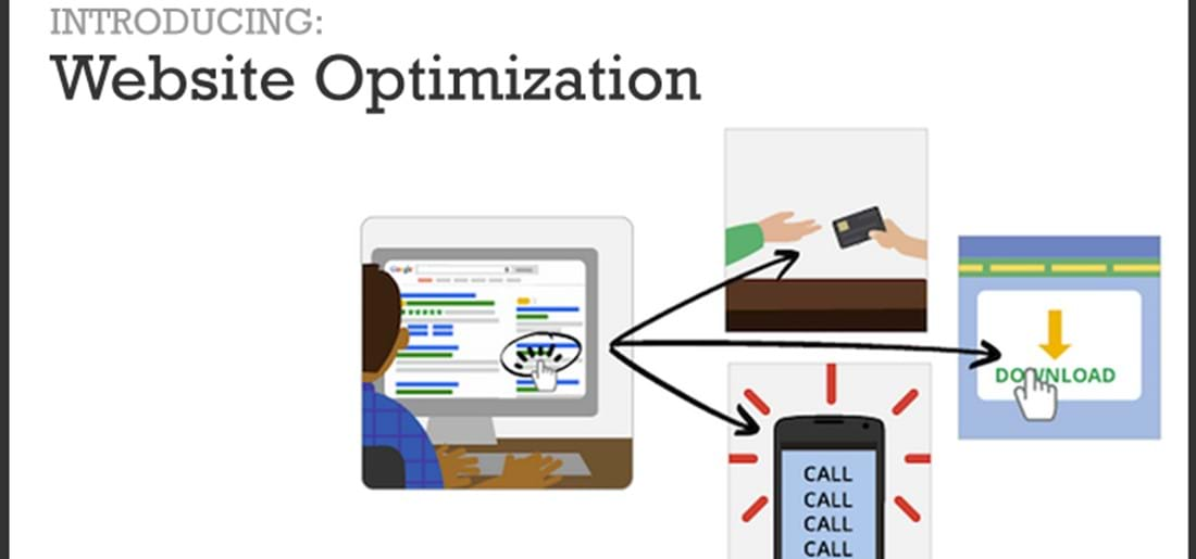 Web Optimization Banner